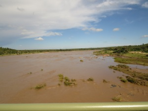 Olifants River in full flow