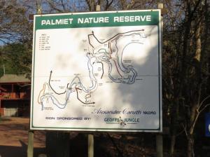 Palmiet NR Map