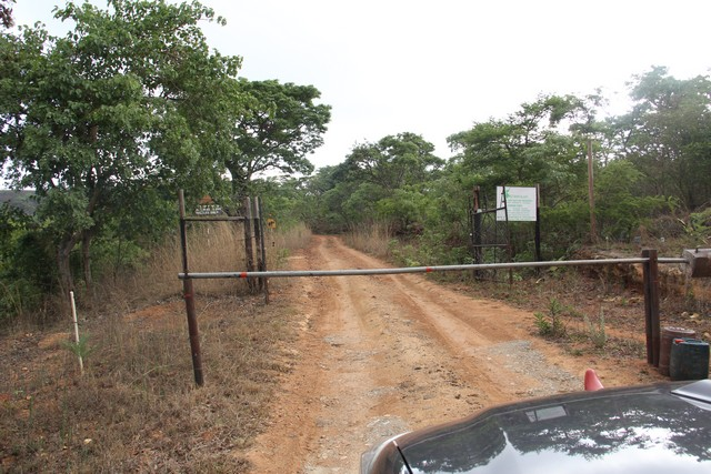 Entrance to Cecil Kop Nature Reserve, Mutare