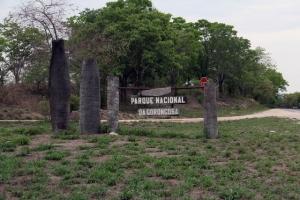 Entrance to Gorongoza Reserve