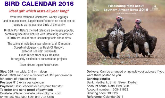 BLPN Calendar 2016