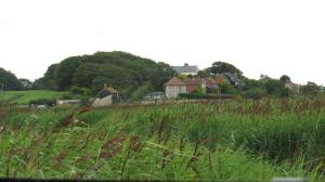 Cley Marshes and background