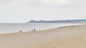 Cley shingle beach